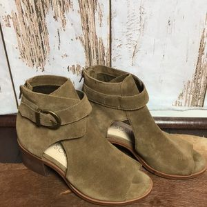 Nordstrom Sole society suede block sandals